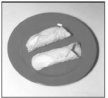 Unfilled cannoli shells are available in most supermarkets. EPD Photos