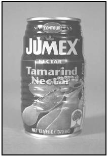 Tamarind nectar (juice), made from the acidic tamarind and sold by street vendors in Tanzania, may sometimes be found, sold in cans, in large supermarkets elsewhere in the world. EPD Photos